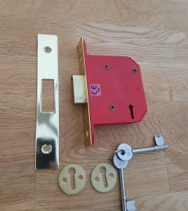 3 lever mortice lock. Alcatraz Edinburgh locksmiths
